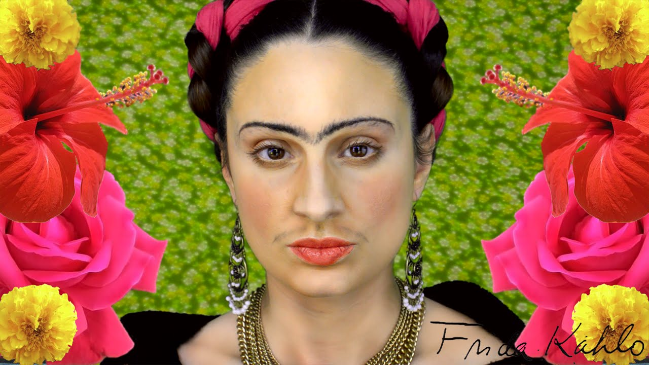 GET THE LOOK Frida Kahlo Maquillaje 2 Peinados