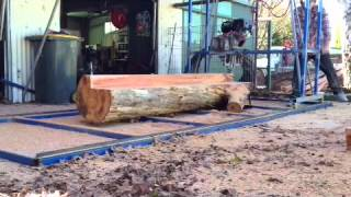 How To Build A Swing Blade Sawmill Pt6