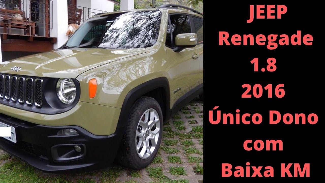 Jeep Renegade Usado Confira Preco Jeep Renegade 2016 Unico Dono E