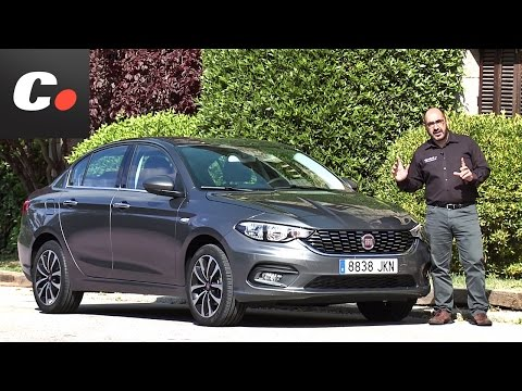 Fiat Tipo 2017 Prueba An lisis Test Review en espaol coches.net