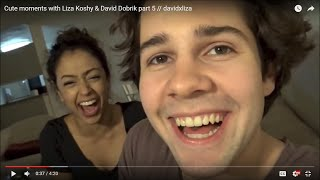 Cute moments with Liza Koshy & David Dobrik part 5 // davidxliza