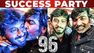 Vijay Sethupathis Super Kiss! | 96 Success Party | Trisha | TT 294
