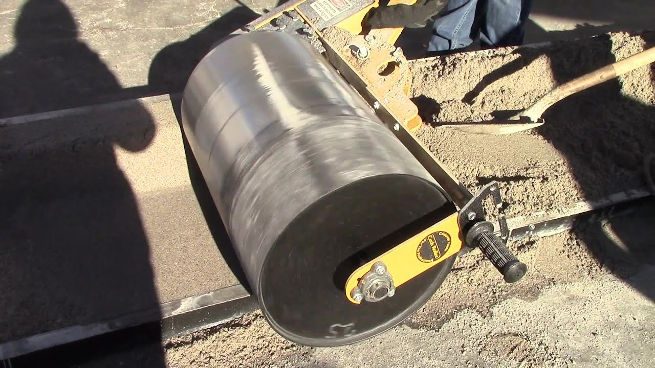Curb Roller Cm4000 Speeds Up Curb And Gutter Creation Youtube