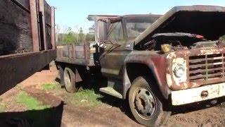 Old Dumptruck crank fail & flatbed crank
