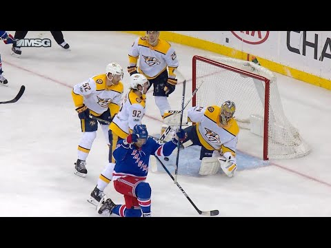 10/21/17 Condensed Game: Predators @ Rangers