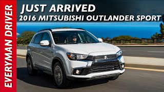 Just Arrived: 2016 Mitsubishi Outlander Sport on Everyman Driver