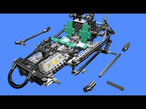 Cruiser Lego Technic 8428 8432 Building Instructions Model A