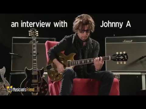 Musician's Friend interview with Johnny A.
