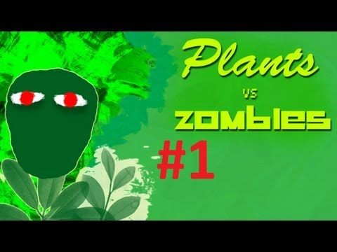 Plants vs. Zombies - 1 Epizodas - Zombiai Puola !