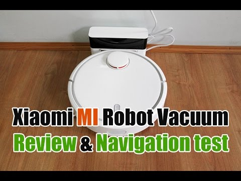 Xiaomi MI Robot Vacuum Review and Navigation Demonstration (Room and Hallway)
