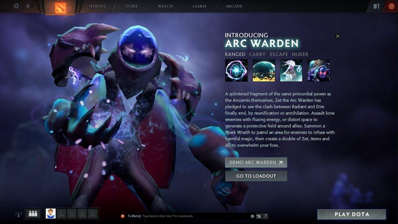 Dota 2 arc warden