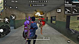 Free Fire Best Player on phone Insane Headshots/Villain Gaming