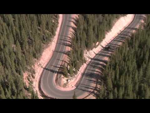 All-New Range Rover Sport Sets Pikes Peak Hill Climb Record B-Roll Aerial Footage