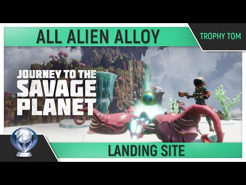 Journey to the Savage Planet - All Alien Alloy - Landing Site 🏆 - Trophy Guide