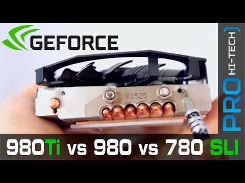 Сравнение видеокарт NVIDIA