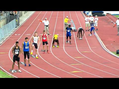 Girls & Boys 200 Meter Dash Finals Classes 1A 6A
