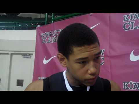 PointguardU.com Interview with Brandon Ashley at King City Classic