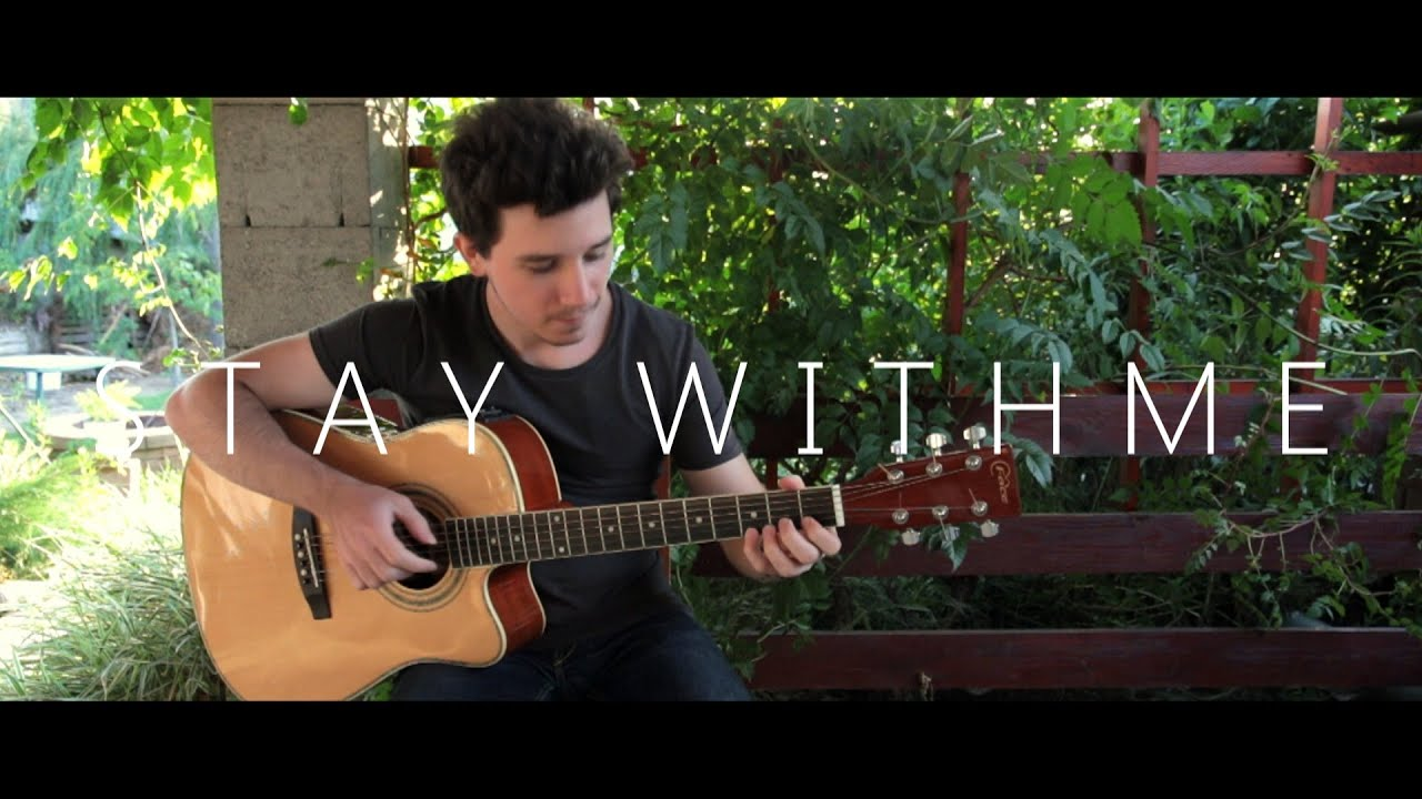 how to play stay with me on guitar