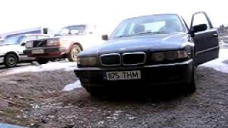 BMW e38 cold start