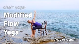 Happy Yoga with Sarah Starr_Luminous Waves Chair Yoga DVD Trailer