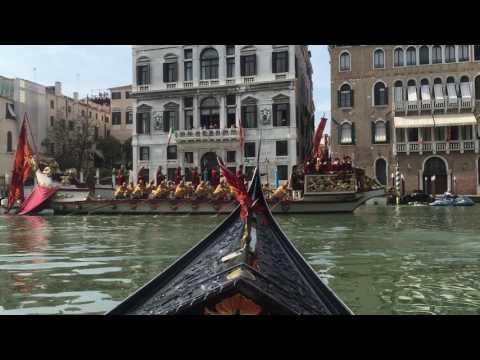 Venice Italy Grand Canal Regatta