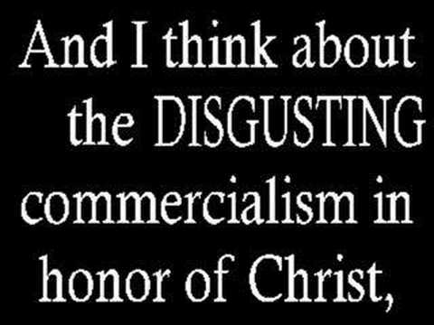 I DON'T Celebrate Christmas Because I AM CHRISTIAN - YouTube