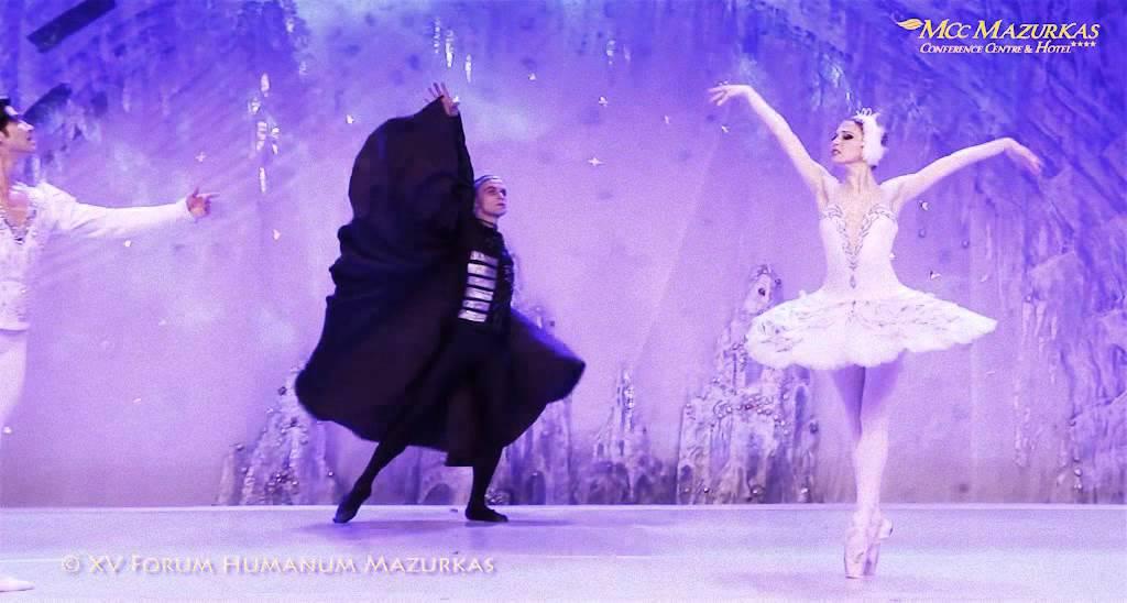 """P. Czajkowski """"Jezioro Łabędzie"""" – Narodowy Lwowski Teatr Opery i Baletu – XV Forum Humanum"""