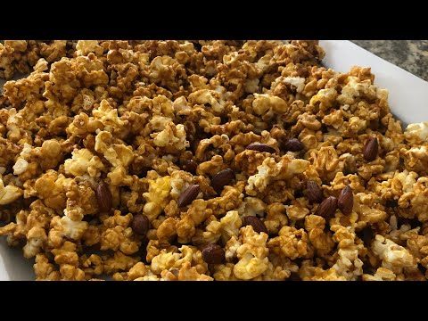 microwave caramel jus4sweetz easy homemade microwave caramel corn youtube