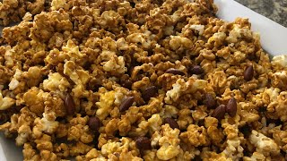 Jus4sweetz Easy Homemade Microwave Caramel Corn