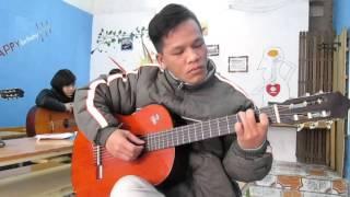 Học Guitar đệm hát mà chơi cổ điển (Học viên GPT school)