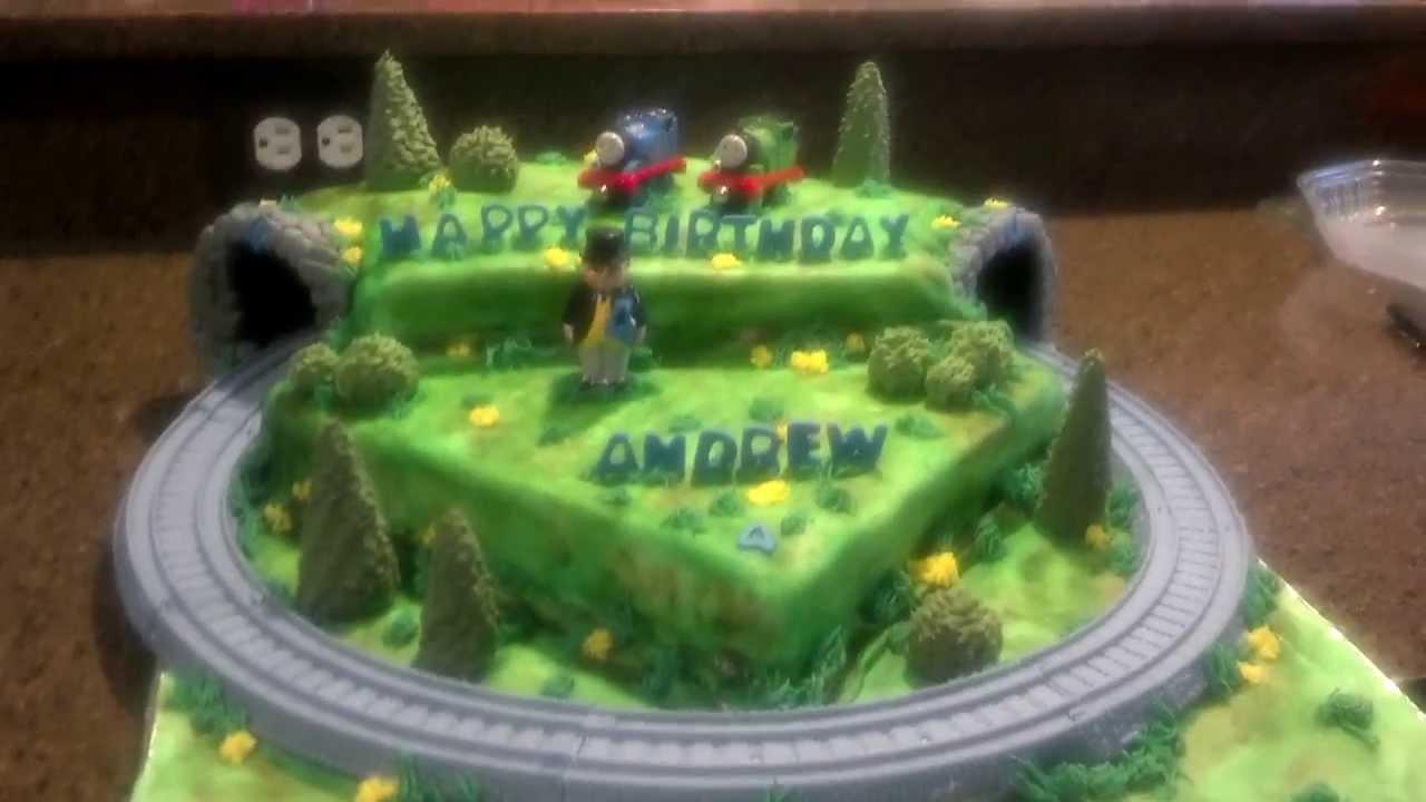 How To Make A Thomas Cake
