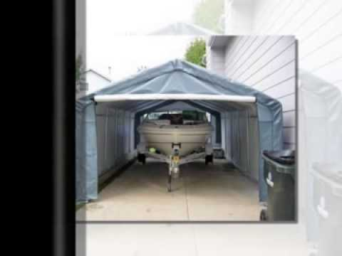 Portable Car Garage Costco Brand Shelter Covers - YouTube