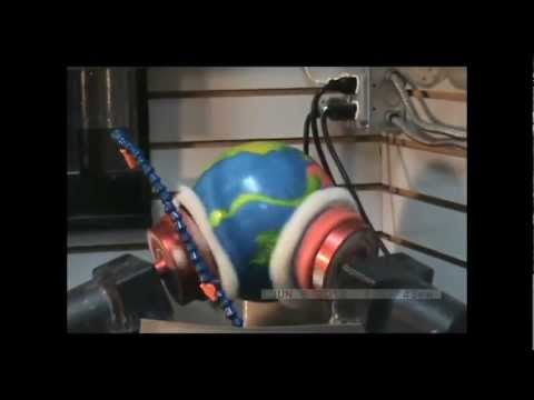 Polishing A Bowling Ball With A Modified Cook Sphere