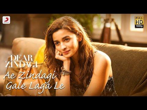Ae Zindagi Gale Laga Le Take 1 - Dear Zindagi| Alia | SRK | ILAIYARAAJA | Gulzar | Amit | Arijit
