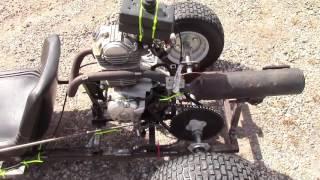 15 HP 5-Speed Go Kart Build Part 8- Frame Reinforcing