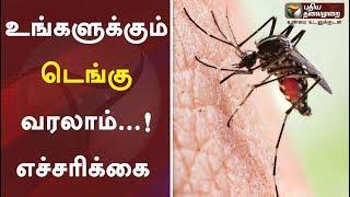 உங்களுக்கும் டெங்கு வரலாம்...! எச்சரிக்கை   Dengue Fever