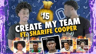 Sharife Cooper Wants Zion Williamson To Play With JELLYFAM JQ? Builds ULTIMATE College Team With $15