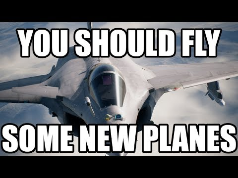 Ace Combat 7 - Top 5 Planes You Aren't Flying