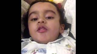 Child Good Night Saying Video Celbridge Cabs