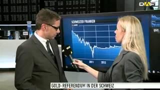 Schweizer Goldreferendum - sind die Gold-Spekulanten schon unterwegs?