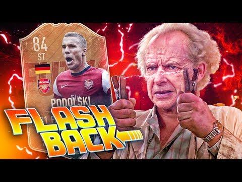 FLASHBACK ARSENAL PODOLSKI EXPERIMENT! ARSENAL TRANSFER SQUAD! FIFA 19 ULTIMATE TEAM