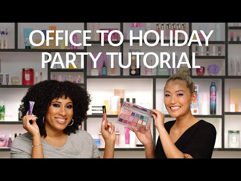 Office to Holiday Party Makeup Tutorial | Sephora thumbnail