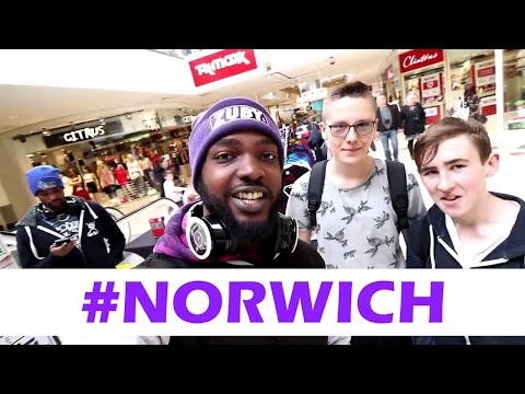 Zuby's Norwich Vlog #1 (The Blue and Purple Store)