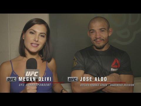 UFC 200: Jose Aldo Backstage Interview
