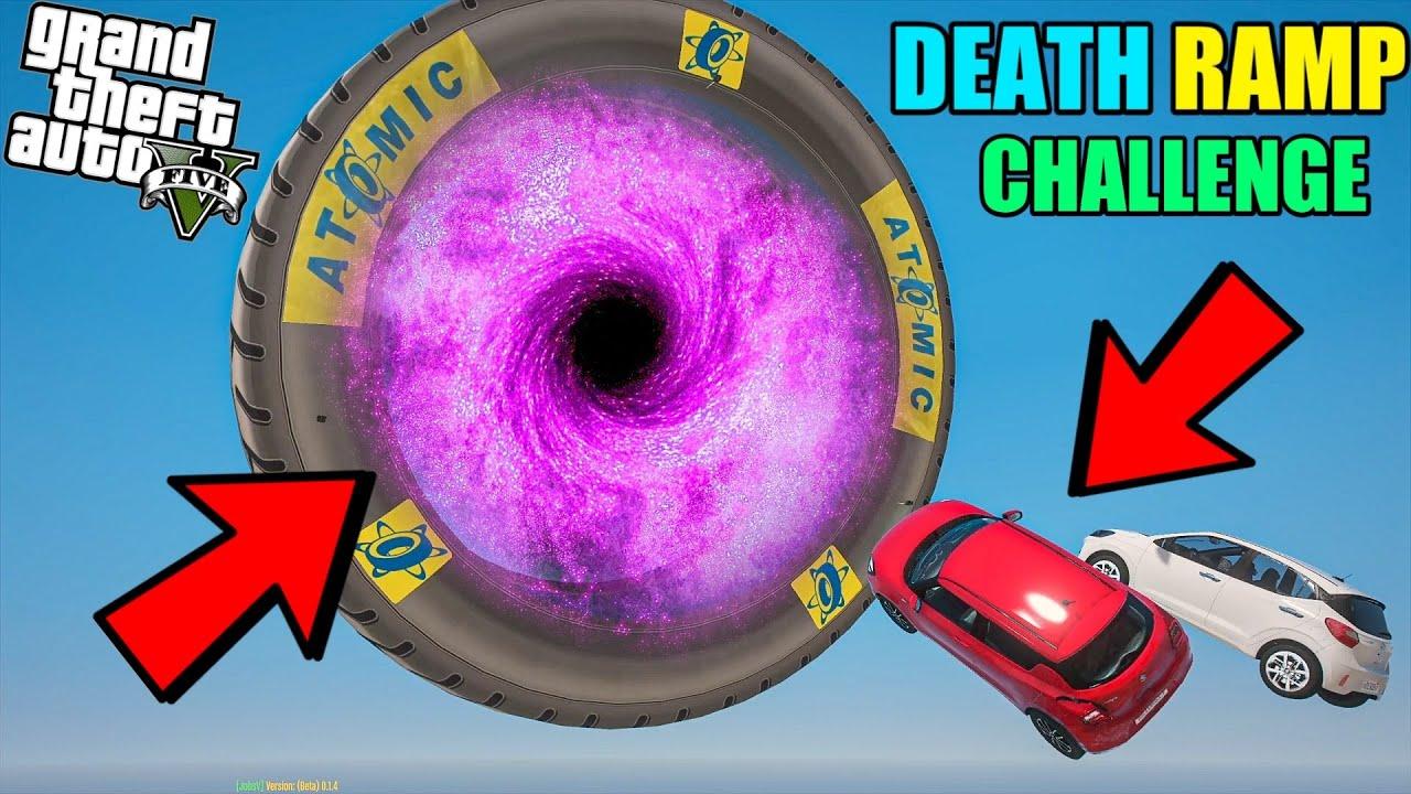 GTA 5 : MICHAEL VS FRANKLIN DEATH MEGA RAMP CHALLENGE WITH INDIAN CARS !!!