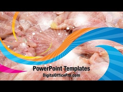 Chicken meat powerpoint template backgrounds digitalofficepro chicken meat powerpoint template backgrounds digitalofficepro 02737w toneelgroepblik Gallery