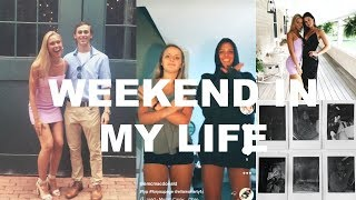 VLOG: weekend with my friends, weddings, new step sisters and more!