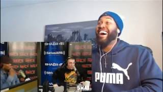 LEGENDARY FREESTYLE!!! | Token Raps on Sway in the Morning over 50 Cent Beats - REACTION