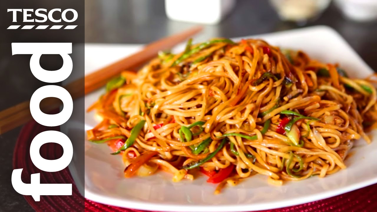 How to make chow mein with ken hom tesco food youtube forumfinder Gallery
