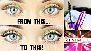 Rimmel London Eye Makeup Tutorial ♡ 24 Hour Super Curler Mascara Review & Demo | KatesBeautyStation
